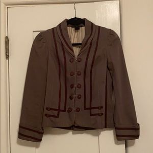Marc Jacobs Brown Band Blazer